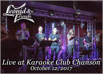 Live at the Karaoke Club Chanson